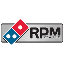 RPM Pizza Domino's Logo
