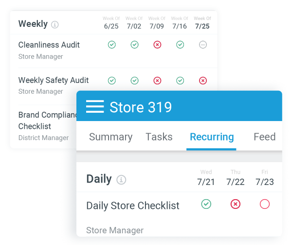 Automate task assignment, corrective actions, and alerts