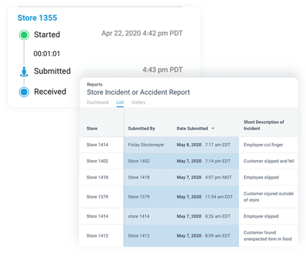 Access historical reports from anywhere